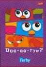 Zeszyt A5 Furby w 3 linie 16 stron