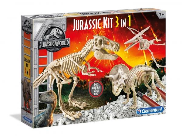 Naukowa Zabawa: Jurassic World Trex Pterados