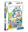 Puzzle SuperColor 60: Home Sweet Home (26062)