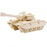 Puzzle drewniane 3D Czołg