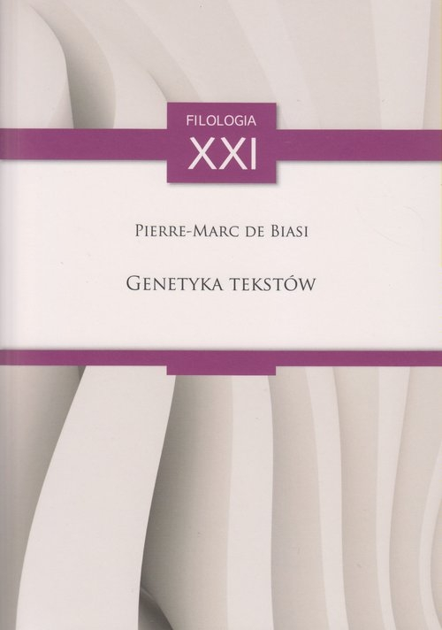 Genetyka tekstów Pierre-Marc de Biasi