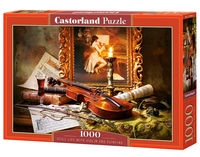 Puzzle Still Life With Violin And Painting 1000 (C-103621)
