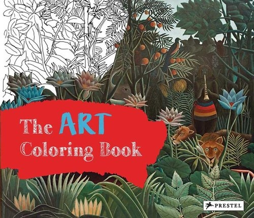 Art Coloring Book Roeder Annette