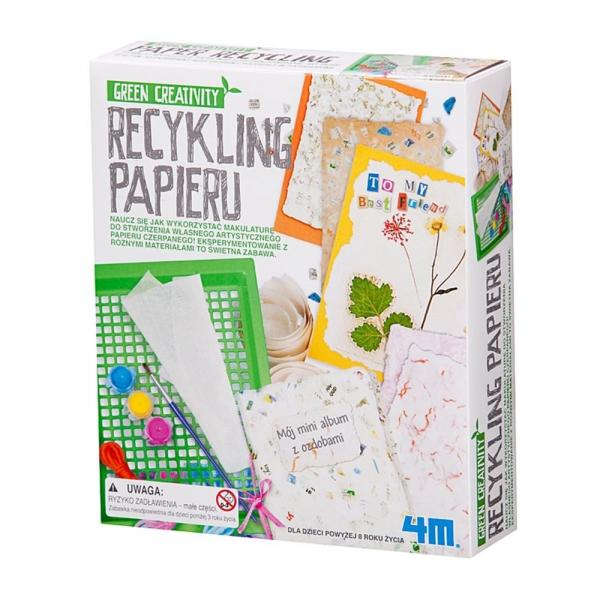 Recykling i Zabawa Recykling Papieru (4562)