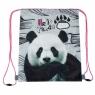 Worek szkolny na ramię Panda (448335)