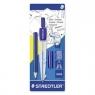Cyrkiel szkolny+grafity+ołówek STAEDTLER (S 550 60 BK)