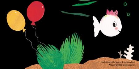 Mała biała rybka ma urodziny Genechten Guido van
