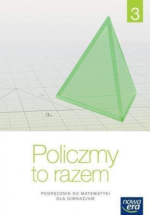 Matematyka GIM 3 Policzmy to razem Podr. NE Jerzy Janowicz