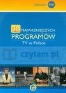30 najważniejszych programów TV w Polsce  Godzic Wiesław