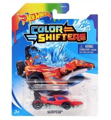 Hot Wheels: Samochodzik zmieniający kolor - Scorpedo (BHR15/GKC20)