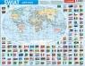 Puzzle ramkowe 72: Świat, mapa administracyjna