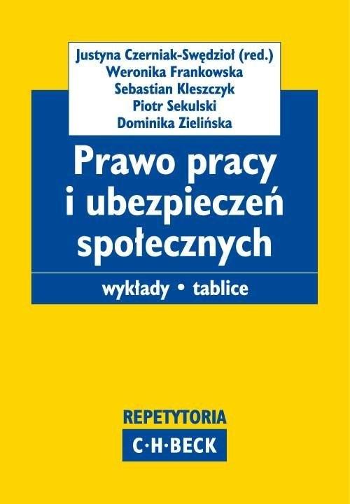 Prawo pracy i ubezpieczeń społecznych Czerniak-Swędzioł Justyna