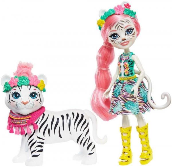 Enchantimals - lalka Tadley Tiger i tygrys Kitty (GFN57)