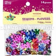 Dodatek dekoracyjny Titanum kwiaty mix 14g