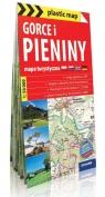 Gorce i Pieniny plastic map Mapa turystyczna 1:50 000