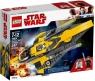 LEGO Star Wars: Myśliwiec Jedi Anakina (75214) od 7 lat