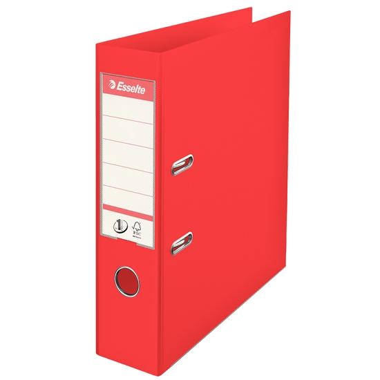 Segregator Esselte No.1 VIVIDA A4/7,5cm - czerwony (624068)
