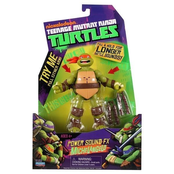 TURTLES Żółwie Ninja SFX Mike 15cm z dzw