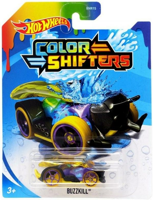 Hot Wheels: Samochodzik zmieniający kolor - Buzzkill (BHR15/BHR56)