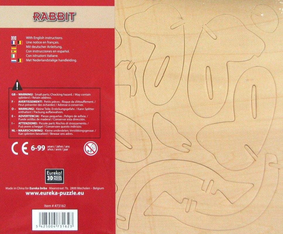 Łamigłówka drewniana Gepetto - Królik (105683)