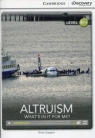 Altruism: What's in it for Me? Intermediate Book Sargent Brian