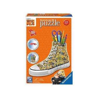 Puzzle 3D 108 Sneaker Minionki 3