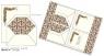 Papeteria Wallet 6 kopert i 6 papierów listowych (DRB 001W)