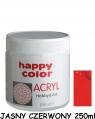 Farba akrylowa 250ml - jasny czerwony (7370 0250-24)