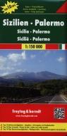 Sycylia Palermo Mapa 1:150 000
