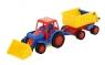 Basics traktor-ładowarka z przyczepą (9623)