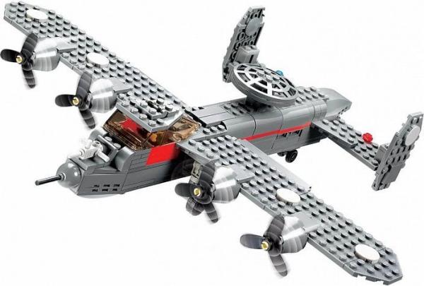 Klocki Blocki: Samoloty 281 elementów (KB84007)