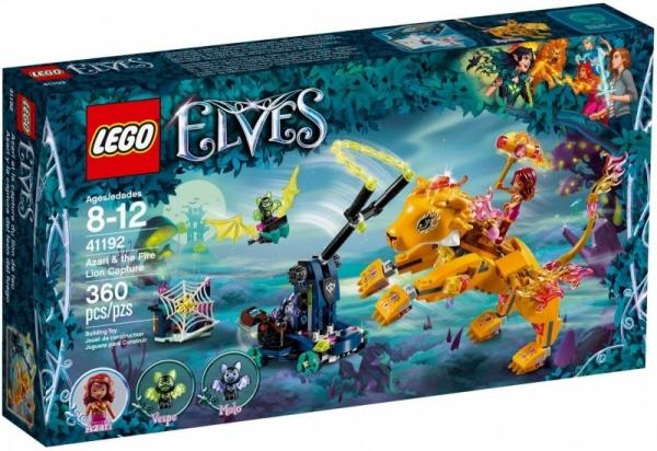 Lego Elves: Azari i schwytanie Lwa Ognia (41192)