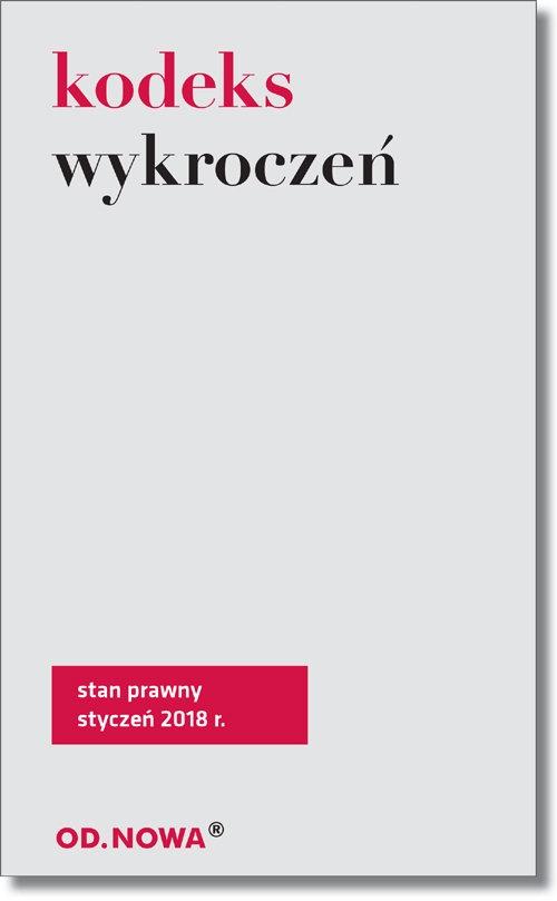 Kodeks wykroczeń broszura