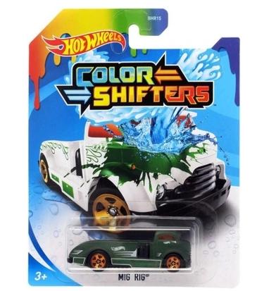 Hot Wheels: Samochodzik zmieniający kolor - MIG RIG (BHR15/GKC21)