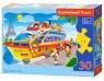 Puzzle konturowe Paris Boat Tour (B-03624)
