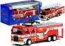 Samochodzik wóz strażacki z drabiną 2 rodzaje mix