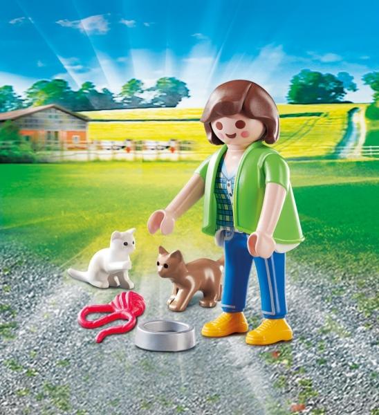 Playmobil Playmo-Friends: Dziewczynka z kotkami (70562)