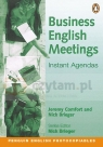 Business English Meetings - Instant Agendas