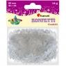 Konfetti 14g, płatki śniegu - białe (284805)