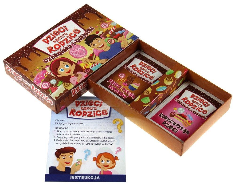 Dzieci kontra Rodzice: Czekolada i cukierki