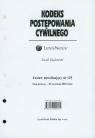 Kodeks postępowania cywilnego Zestaw nowelizujący nr 129 Gudowski Jacek