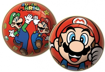 Piłka licencyjna Super Mario 23cm