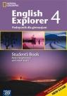 English Explorer 4 Podręcznik z płytą Multi ROM Gimnazjum Stephenson Helen, Tkacz Arek