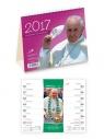 Kalendarz 2017 biurkowy - Z papieżem Franciszkiem