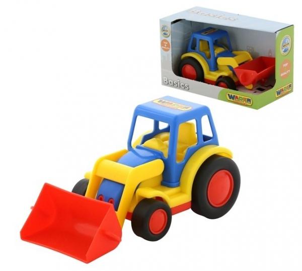 Basics Traktor z ładowarką pudełko (37626)