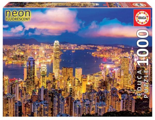 Puzzle 1000: Hong Kong Skyline (18462)
