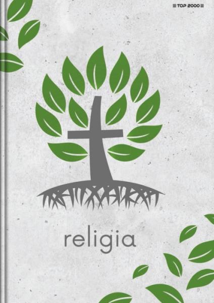 Brulion Top 2000 A5/80k, kratka z marginesem - Religia (400152068)