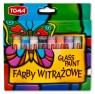 Farby witrażowe GlassDeco, 10 kolorów x 10,5ml (TO-750)