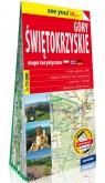 Góry Świętokrzyskie papierowa mapa turystyczna 1:75 000