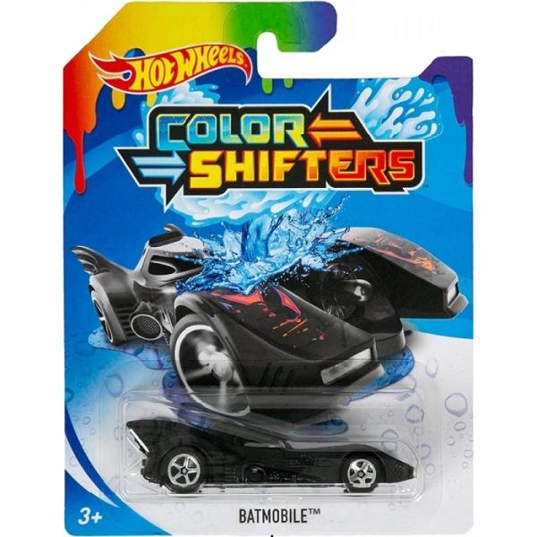 Hot Wheels: Samochodzik zmieniający kolor - Batmobile (BHR15/GBF30)